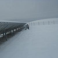 Hladky Majer - Szlovákia -  Földre telepített napelempark 4,5 MW