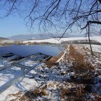 Jovice Szlovákia - Földre telepített napelempark