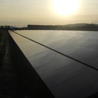 Novi Rusko - Szlovákia - Földre épített naperőmű kivitelezése 1 MW