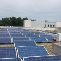 Nyíregyházi Főiskola tetőre telepített napelem kivitelezés 347 KW
