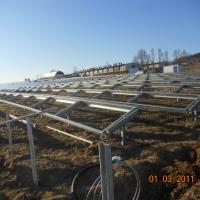 Roznava Szlovákia - Földre telepített napelempark