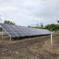 Rózsaszentmárton napelempark 2x500 KW