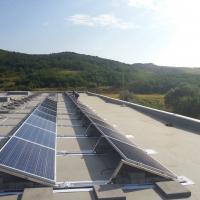 Salgótarján - Sínia Bútorgyár Tetőre szerelt napelem 50 KW
