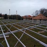 Sárvár, Szent László Kórház 217 KW napelemes rendszere telepítése